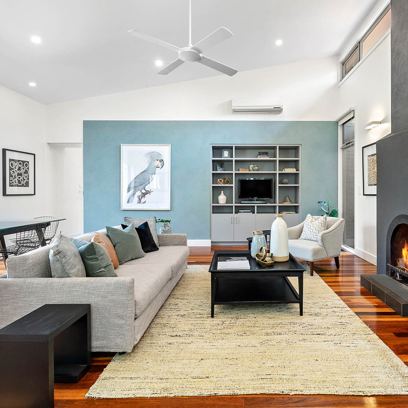living space real estate house sales campaign house styling and staging by origami solutions