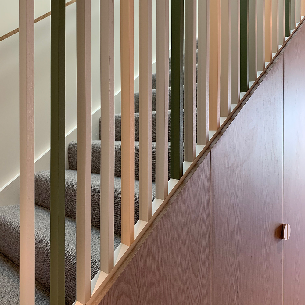 forest colour balustrade by origami solutions